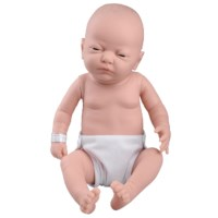 Pflege Baby kaukasische Frau