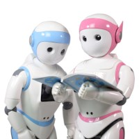 Ipal Bildungsroboter in blau