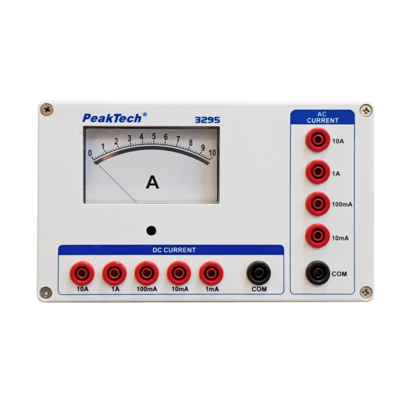 Analoge amperemeter 10A AC/DC