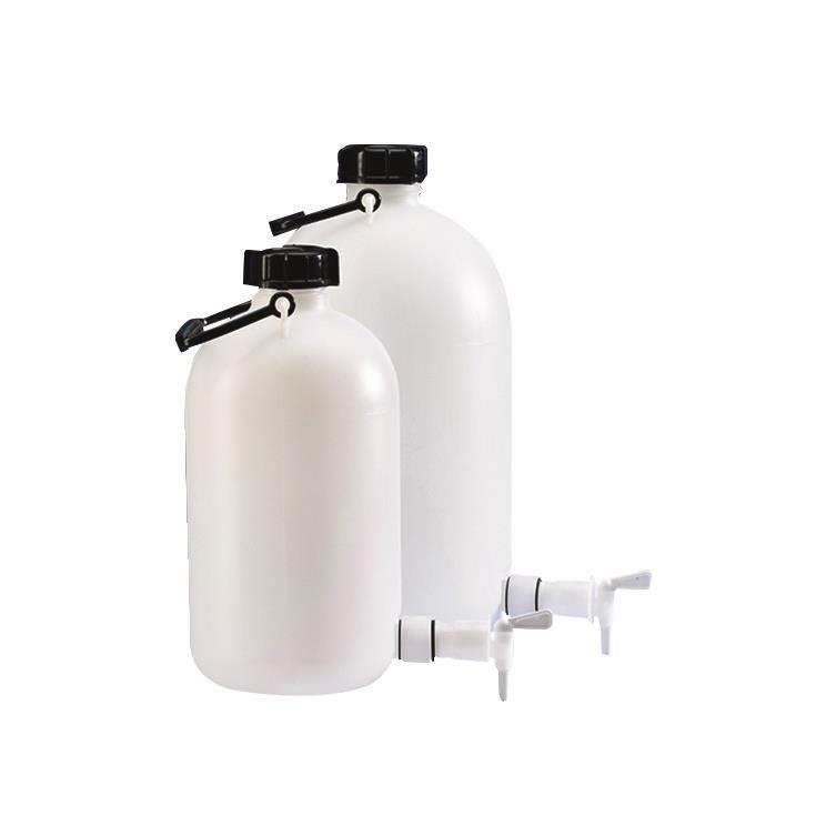 Decanteerfles, PE-HD,  5 liter