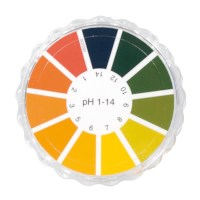 Indicatorpapier op rol pH 1-14