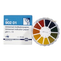 Indicatorpapier op rol pH 1-11