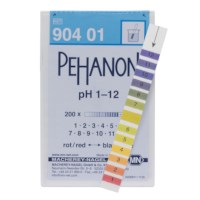 Indicator Pehanon pH 1-12 200st