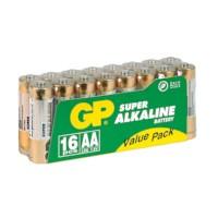 Batterij AA LR06  penlite, verpakking van 16 stuks