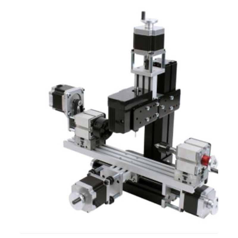 4-as Micro CNC milling machine, CN8285