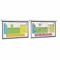 Periodiek systeem 210 x 150 cm met springveer systeem