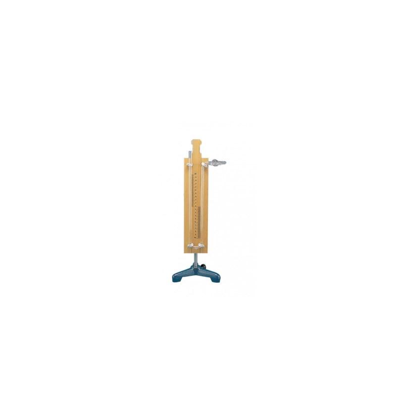Manometer 20 cm met kraan