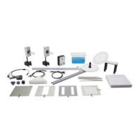 Microgolf set met zender, ontvanger en accessoires