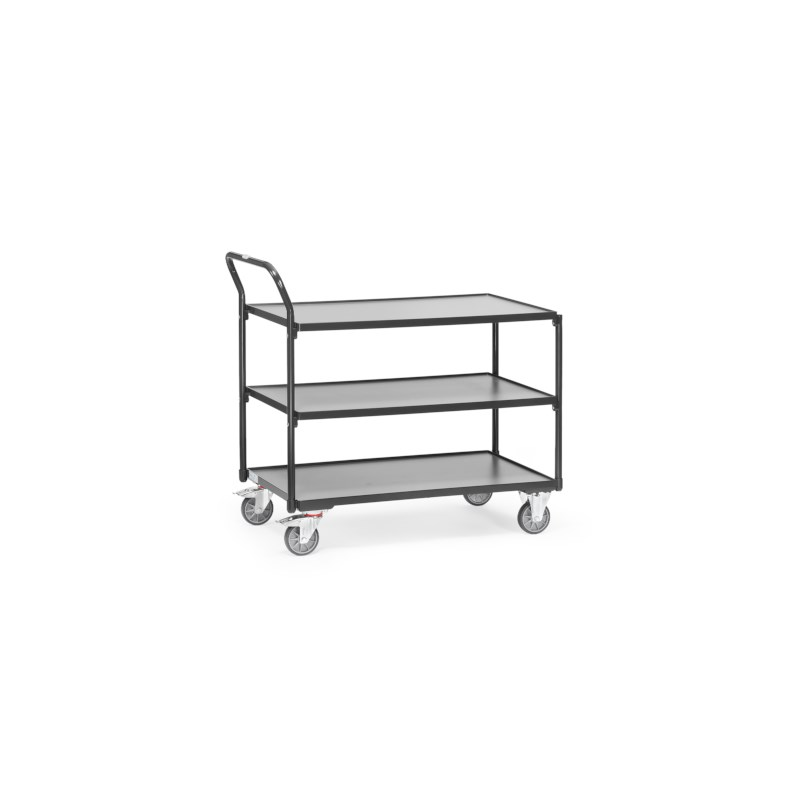 Tafelwagen grijs 985x500x1040 - 3 legborden
