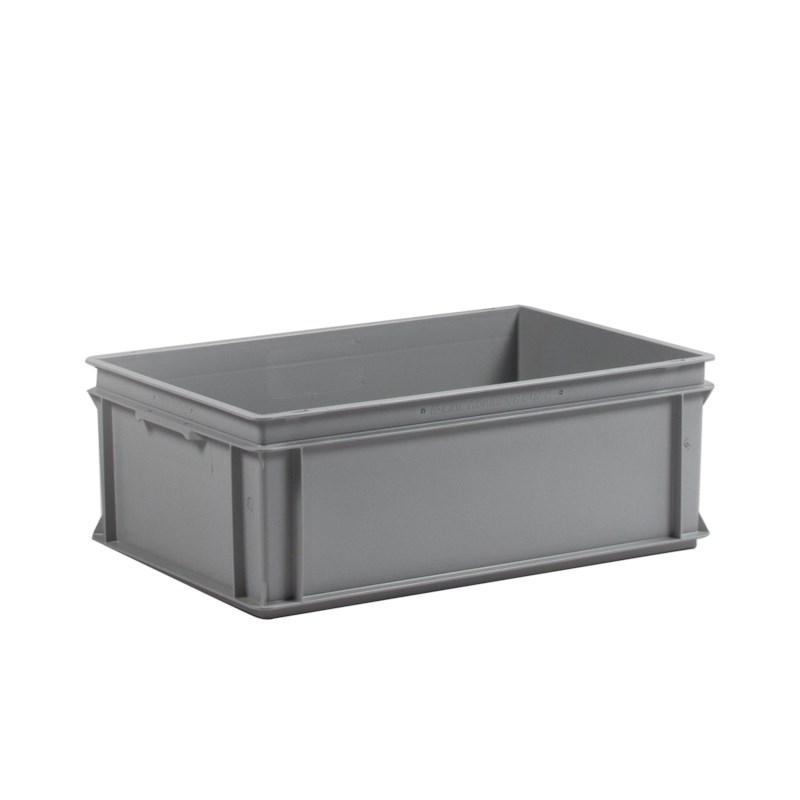 Transportbak grijs 40 ltr