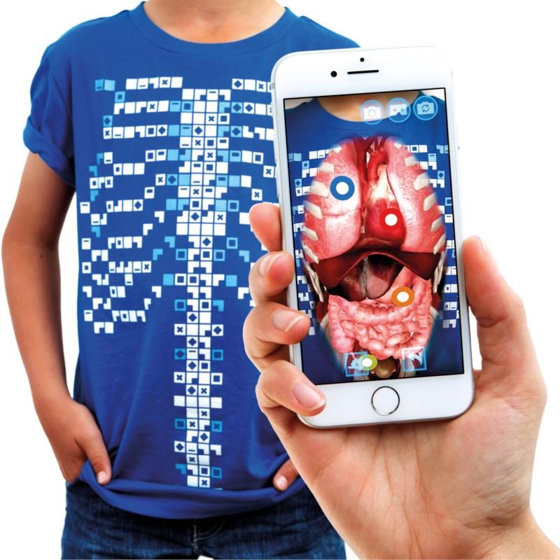 Virtuali-Tee virtueel T-shirt maat S