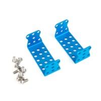 MEDS150 Servomotor bevestigingsbeugel blauw (paar)