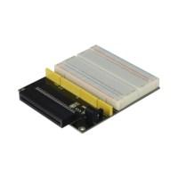 Microbit adapter met breadboard