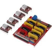 Arduino CNC controller board incl. motor drivers
