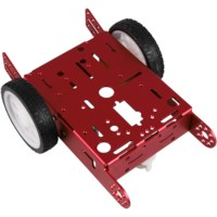 Joy-IT robot chassis 2 WD metaal