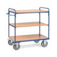 Etagewagen - 3 etages 850 x 500 mm zonder randen