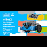 mBot2 networkable onderwijs robot voor Computer Science en STEAM onderwijs