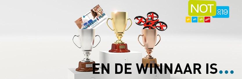 En de winnaar is...
