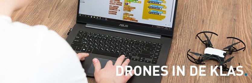 Aan de slag met drones in de klas