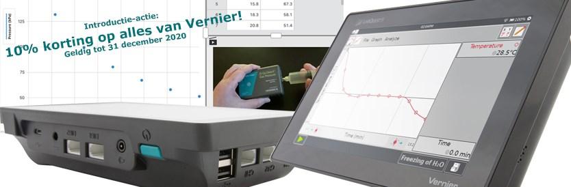 Nieuw van Vernier; De LabQuest3, Graphical Analysis Pro en meer.....